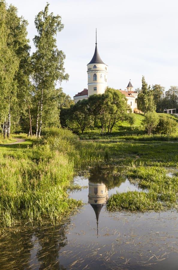 Bipkasteel (Kasteel Marienthal) Pavlovsk Heilige Petersburg Rusland royalty-vrije stock foto