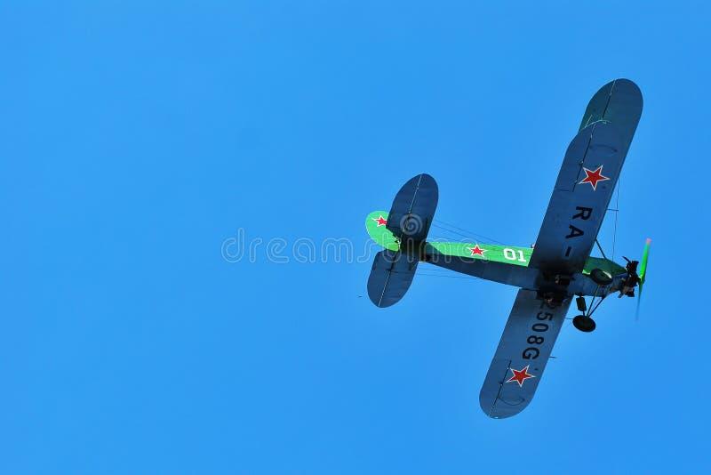 Biplane στοκ εικόνα