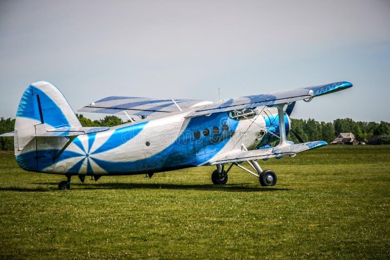 Biplane Royalty Free Stock Images