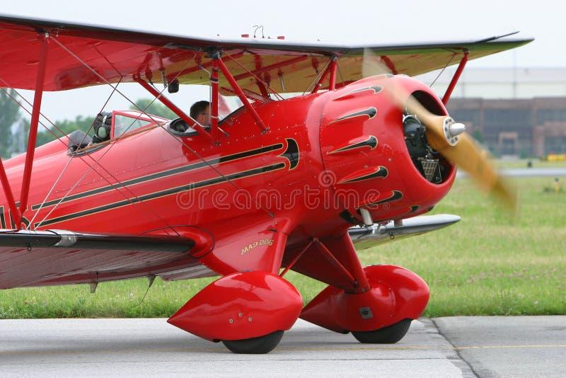 Biplane. Waco YMF Super biplane stock photos