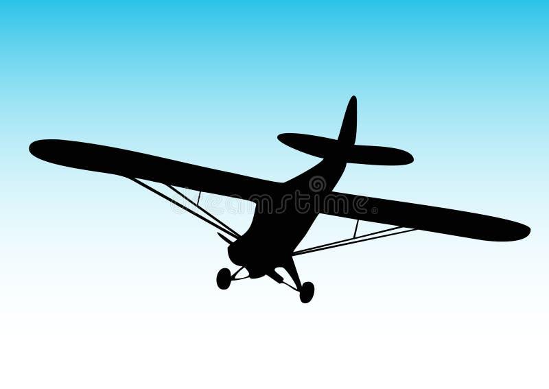 Biplane Aircraft Stock Photo