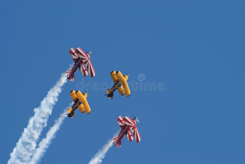Biplani aerobatic di Pitts immagine stock