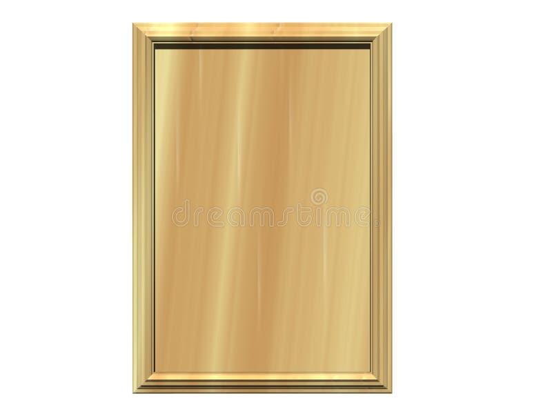 birch plaque иллюстрация штока