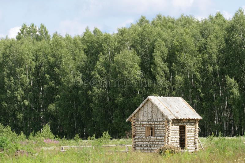 Download Birch small house stock photo. Image of birch, wood, timbered - 5657098