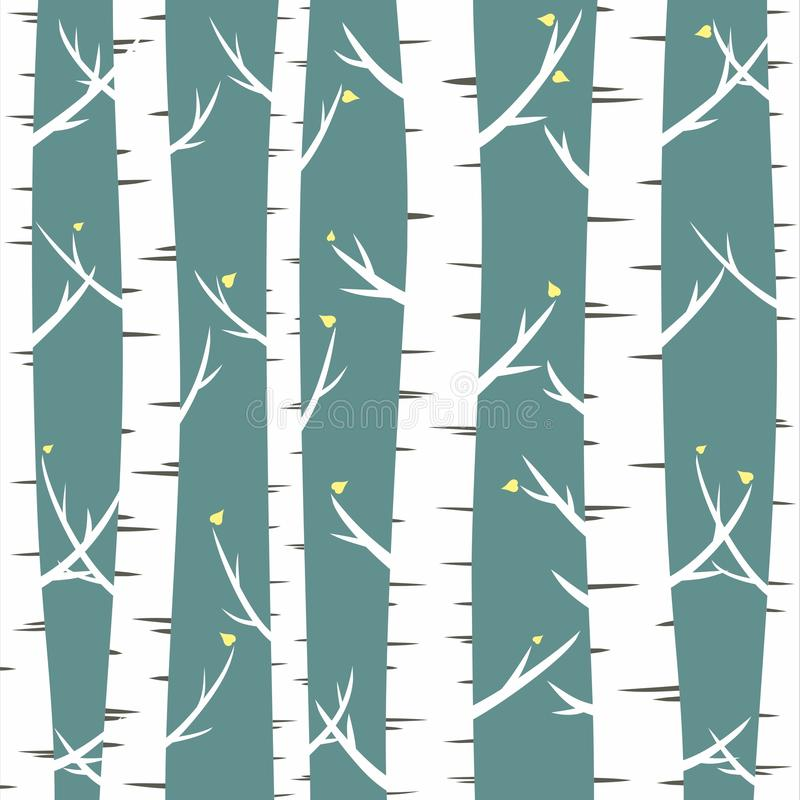 Free Birches Stock Photography - 52133042