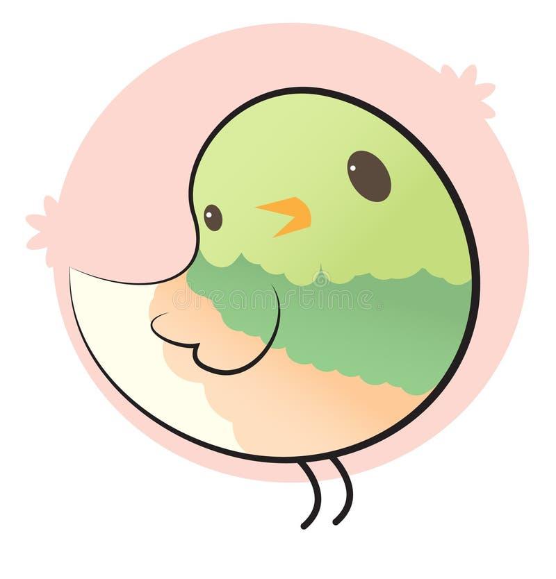 Download Bird stock illustration. Illustration of pink, vintage - 24794774
