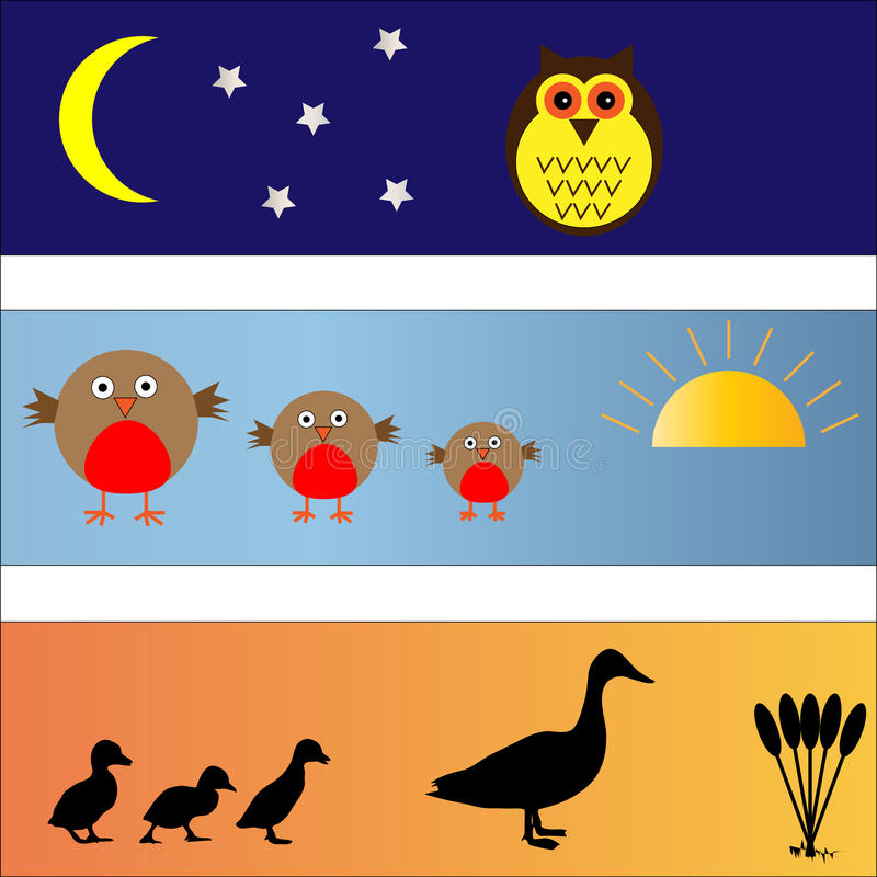 Download Bird Banners set stock vector. Illustration of colourful - 13673244