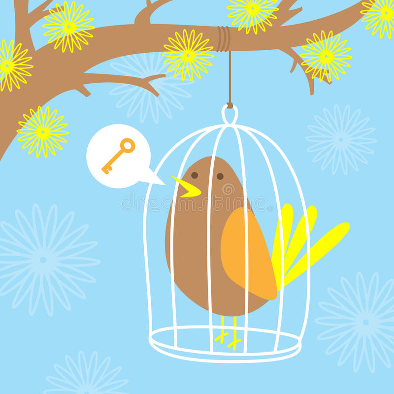 Download Bird In A Cage Stock Photos - Image: 27733413
