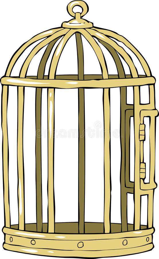 Download Bird cage stock vector. Image of protection, imprisonment - 32354566