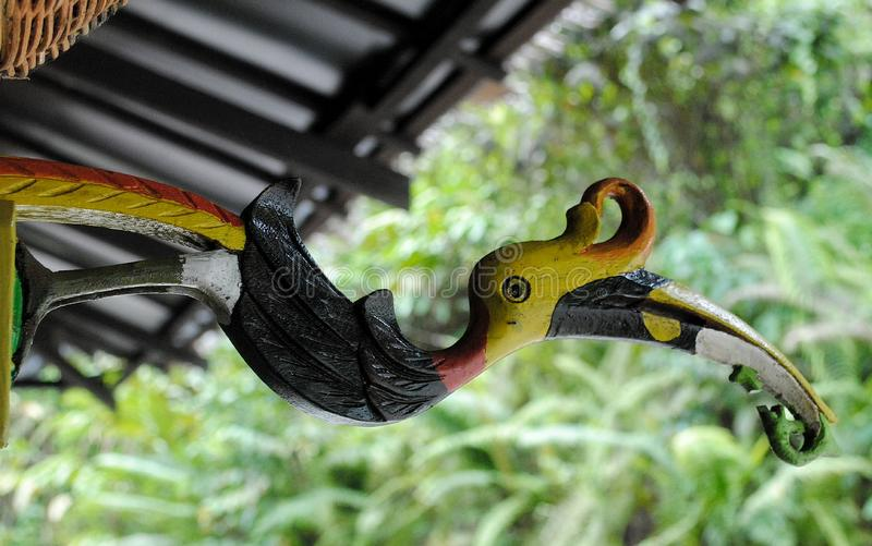 The bird craft stock image