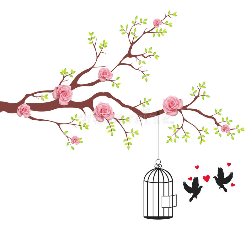 Download Bird Of Freeing From The Cage To Its Lover Stock Images - Image: 28769884