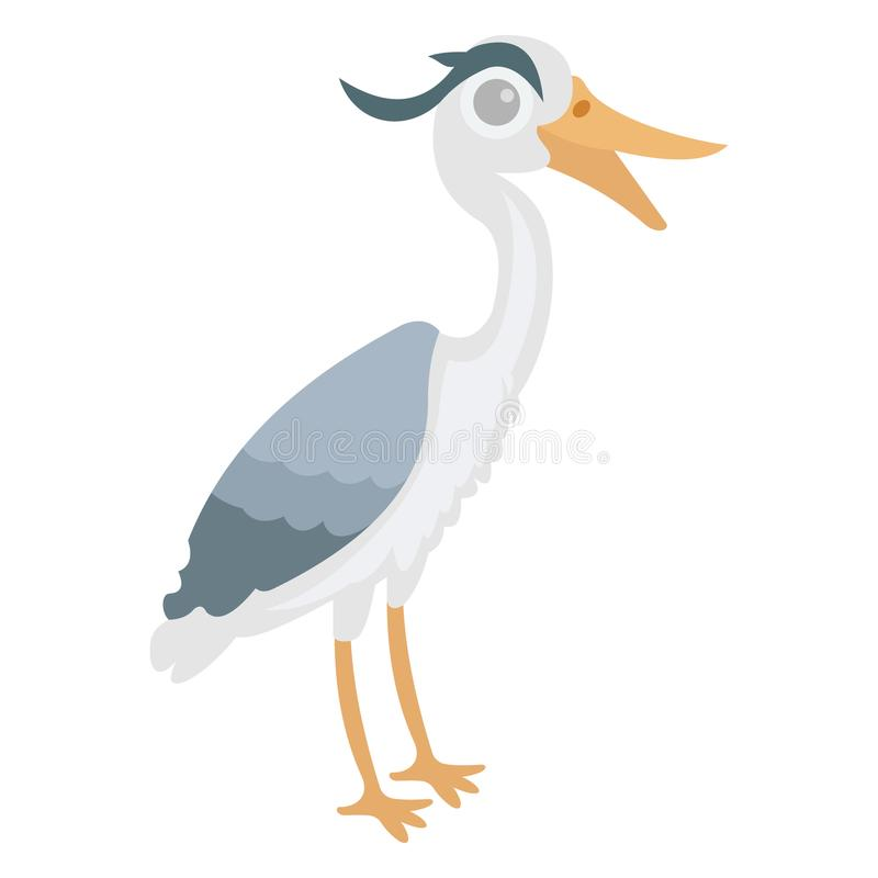 Bird, gull Vector Icon which can be modify or edit royalty free illustration