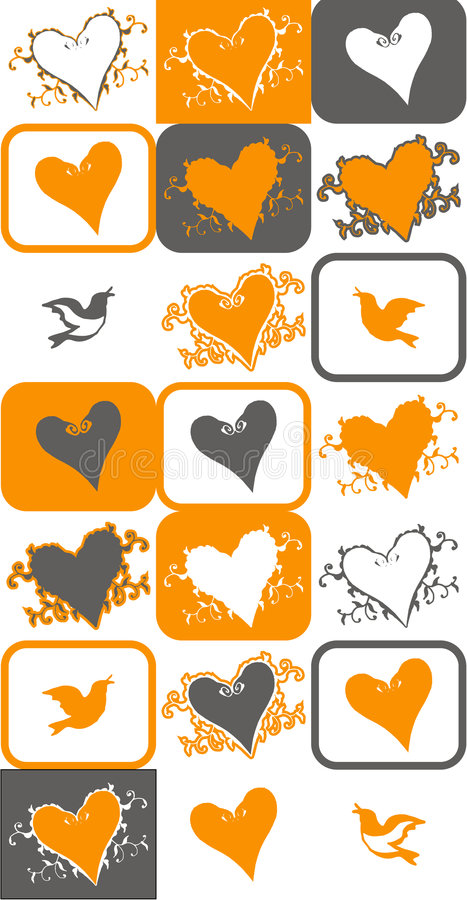 Download Bird and heart vector stock vector. Illustration of cute - 2289951