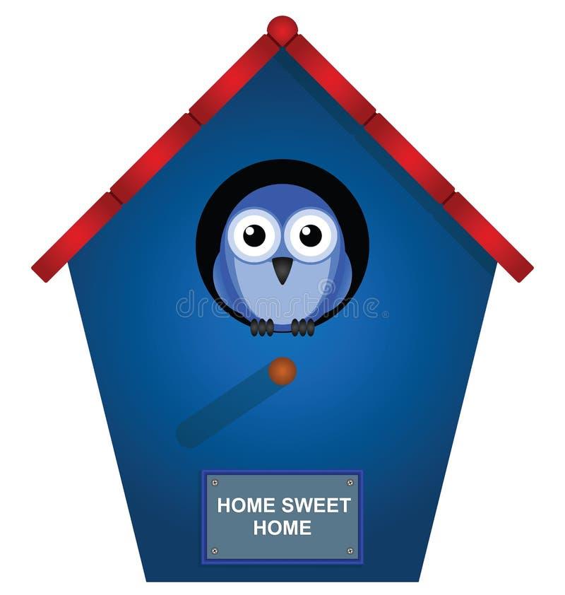 Download Bird house stock vector. Image of creature, habitat, accommodation - 18616932