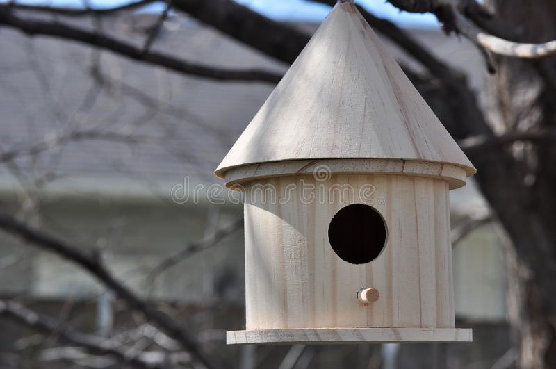 Download Bird House stock photo. Image of nature, animal, tree - 23939464