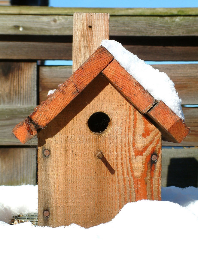 Download Bird house stock image. Image of closeup, wooden, shelter - 55867