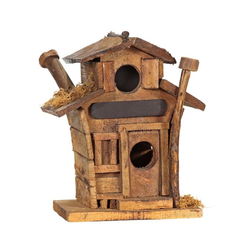 Download Bird House stock photo. Image of studio, hole, wood, white - 7975416