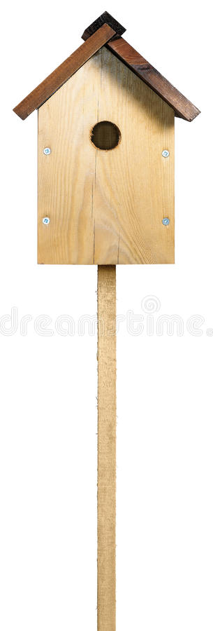 Download Bird House Box On A White Background Royalty Free Stock Photography - Image: 15244687