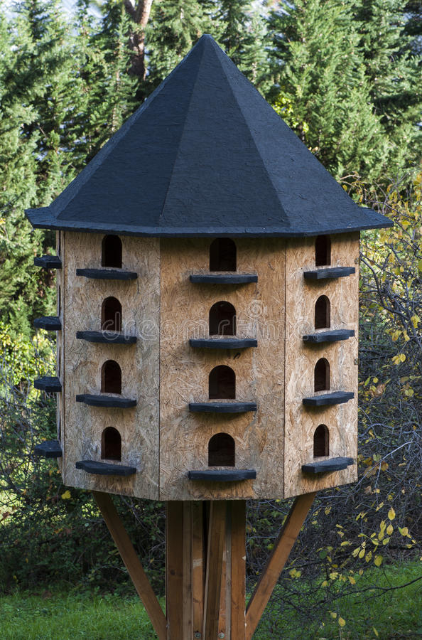 Download Bird house hotel stock image. Image of birdhouses, conjunction - 27867879