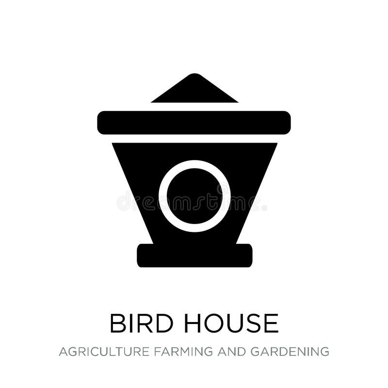 bird house icon in trendy design style. bird house icon isolated on white background. bird house vector icon simple and modern stock illustration