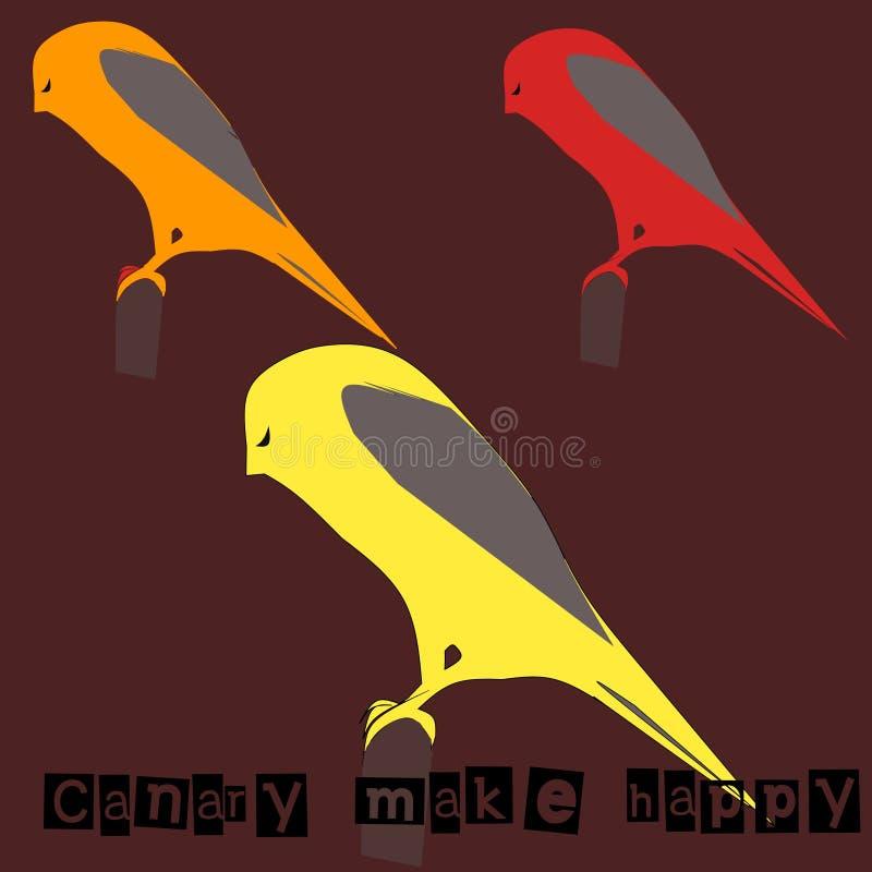 Bird icon. With a brown background. Original design stock illustration