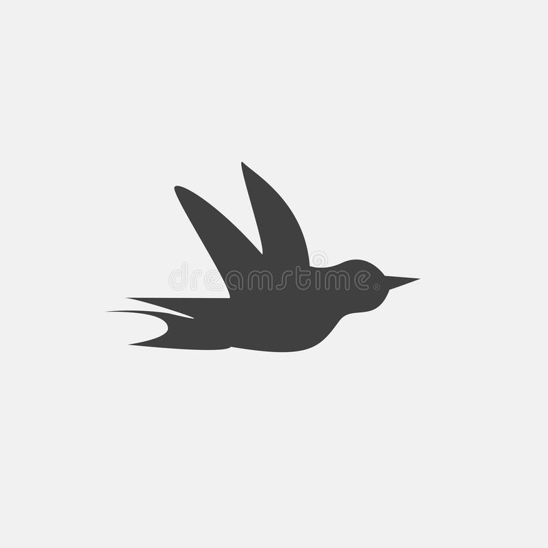 bird icon royalty free illustration
