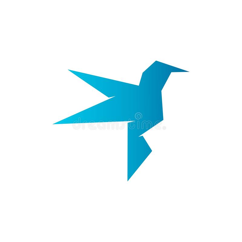 Bird logo stock illustration