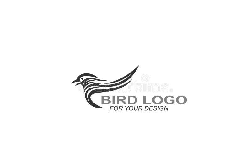 Bird logo vector, icon illustration graphic design. vector illustration