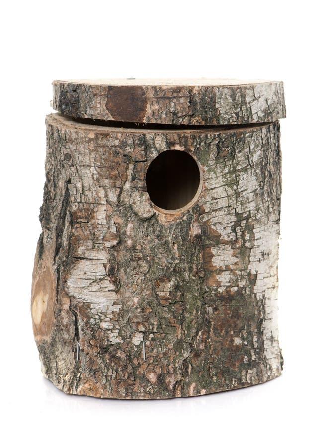 Bird nest box royalty free stock photography