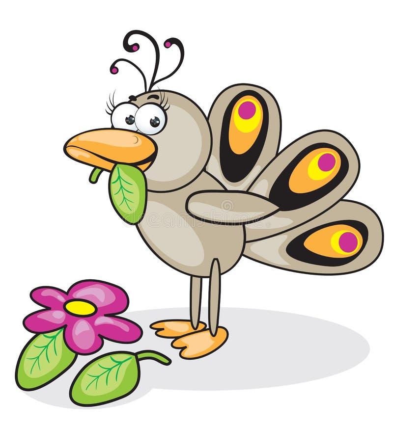 Download Bird peacock stock vector. Illustration of ornate, eps8 - 13908594