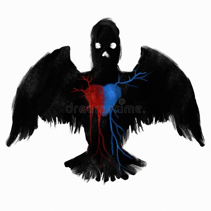 Download Bird Of Prey - Digital Painting Stock Illustration - Illustration: 22223322