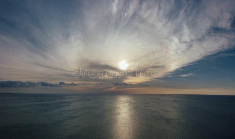 Bird's Eye View Of Ocean stock photos