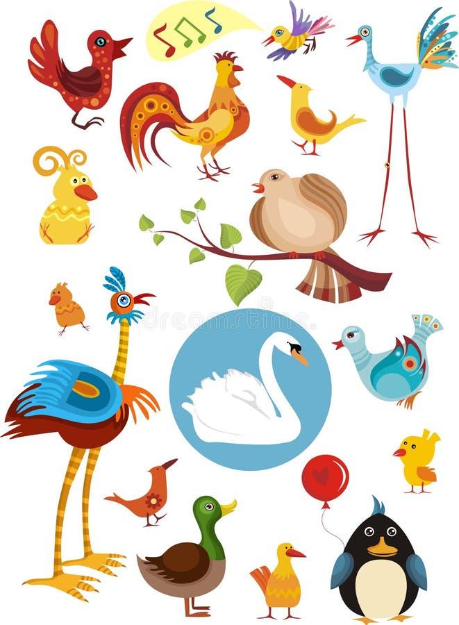 Free Bird Set Stock Photos - 12304673