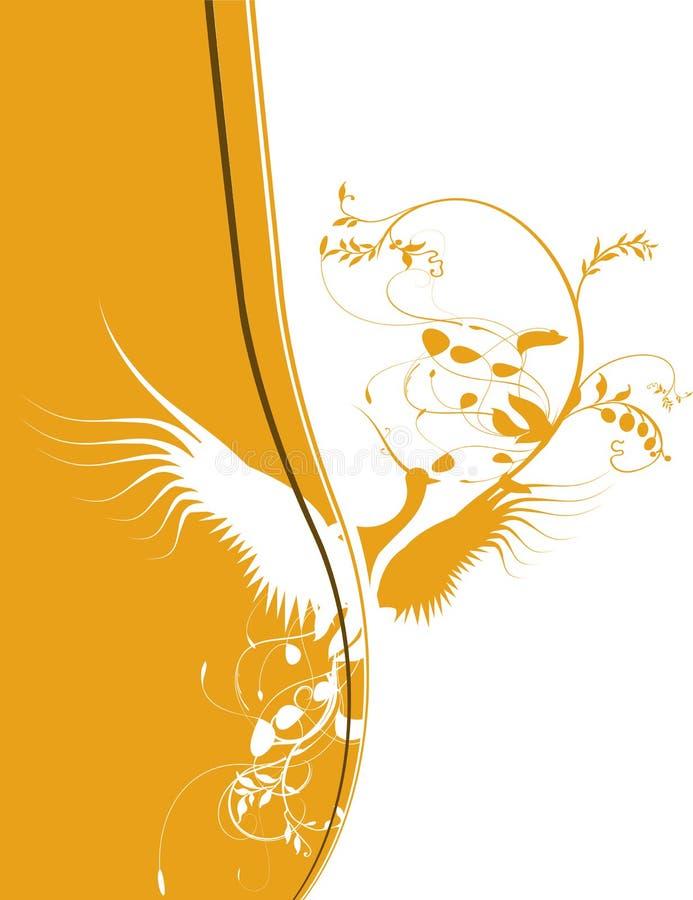 Bird silhouette vector illustration