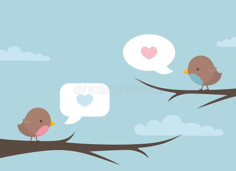 Bird Speak Branch stock images