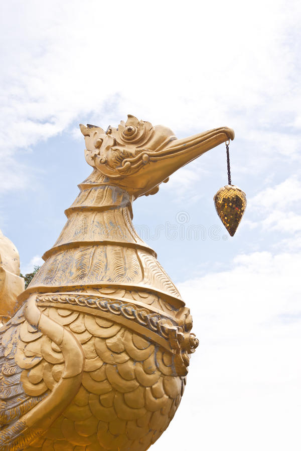 Bird Statue Royalty Free Stock Photo
