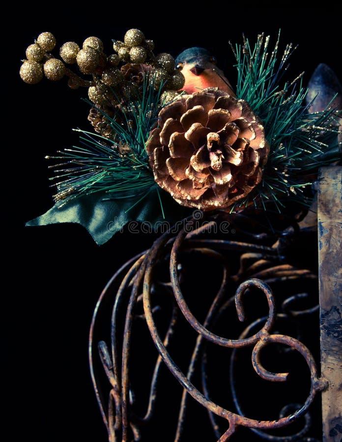 Download Bird Still Life stock image. Image of bird, metal, pine - 22738509