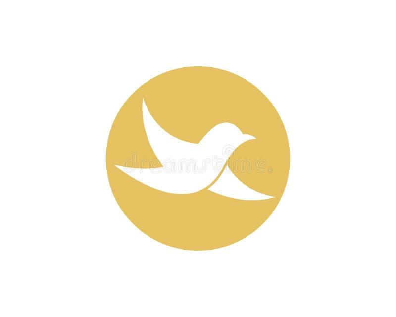 Bird symbol illustration vector illustration