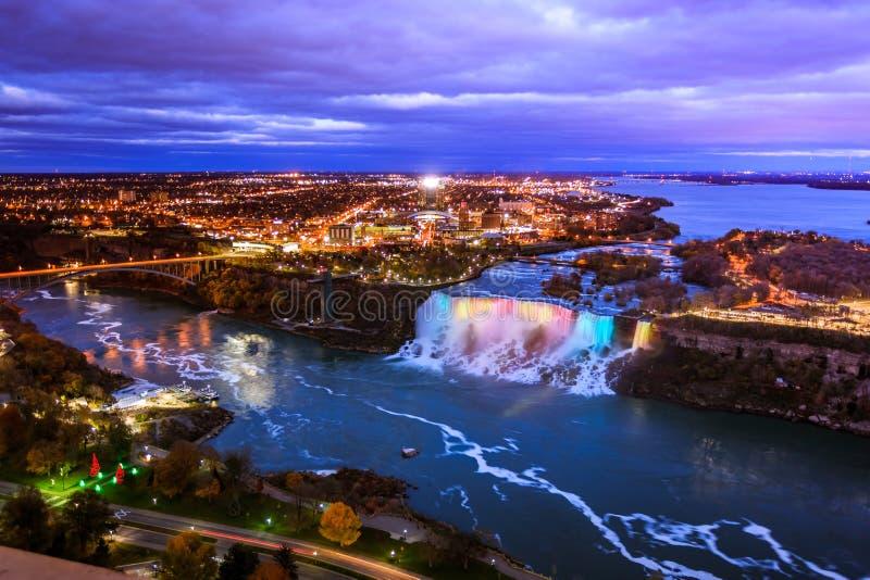 Download Bird View of Niagara Falls stock photo. Image of water - 82312236