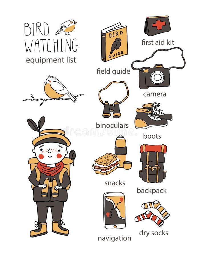 Free Bird Watching. Birding And Ornithology Concept Stock Photo - 169589290