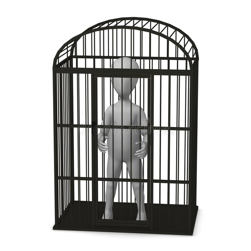 Download Birdcage ilustracji. Ilustracja złożonej z papuga, kreskówka - 13327971