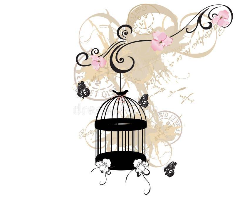Birdcage lizenzfreie abbildung