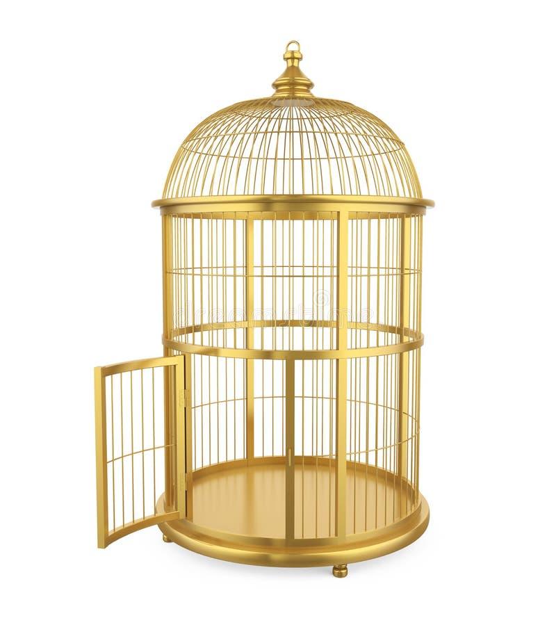 Birdcage isolado ilustração do vetor