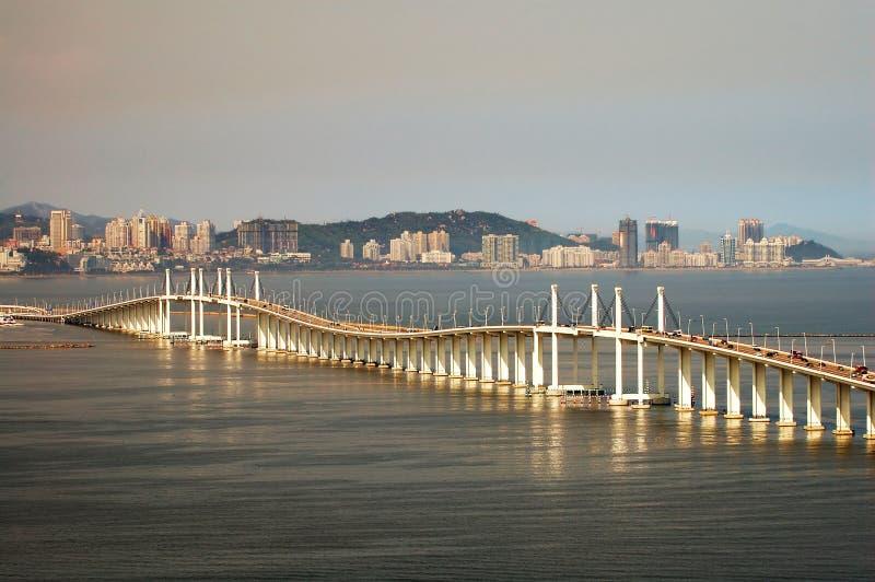 Birdge de la amistad, Macau imagen de archivo