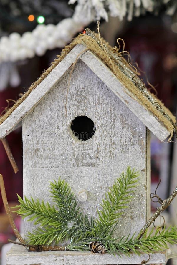 Birdhouse, σπίτι πουλιών στοκ φωτογραφία με δικαίωμα ελεύθερης χρήσης