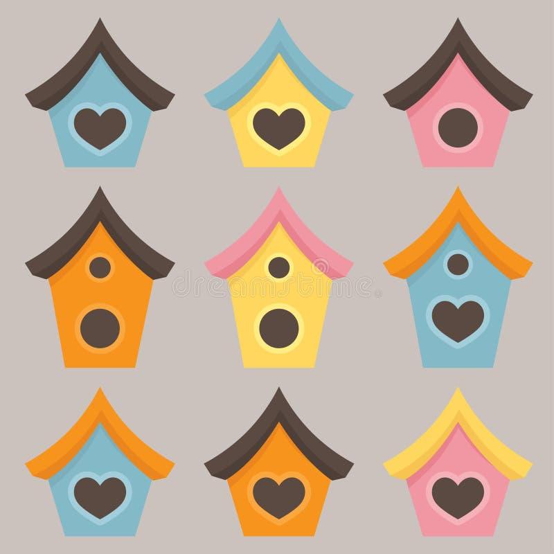 birdhouse немногая бесплатная иллюстрация