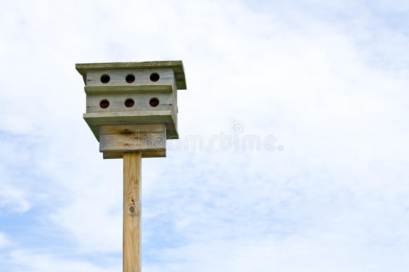 Download Birdhouse. stock photo. Image of wooden, divided, home - 10197444