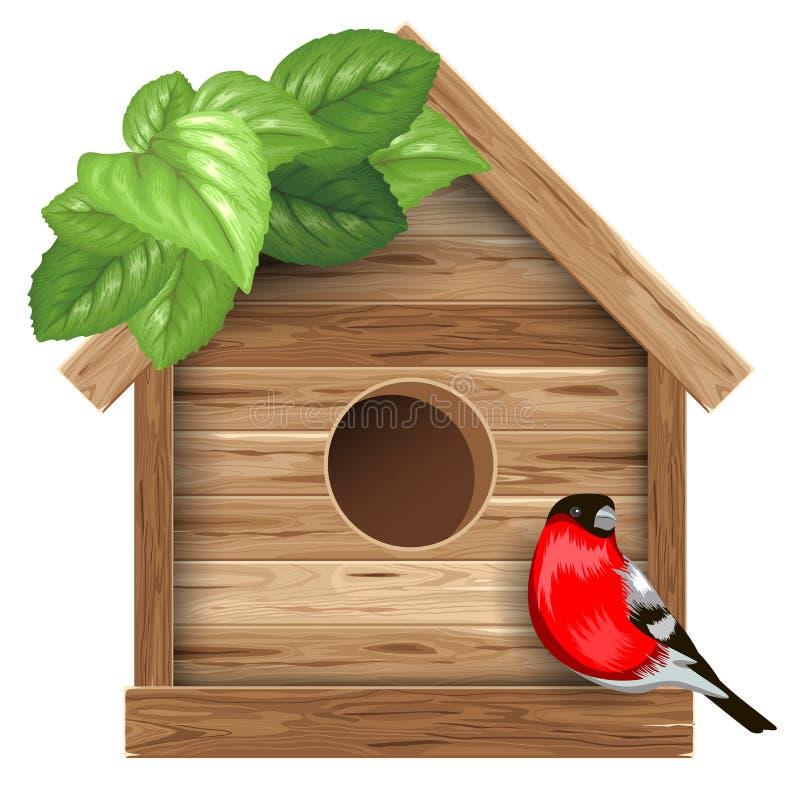 birdhouse royalty-vrije illustratie