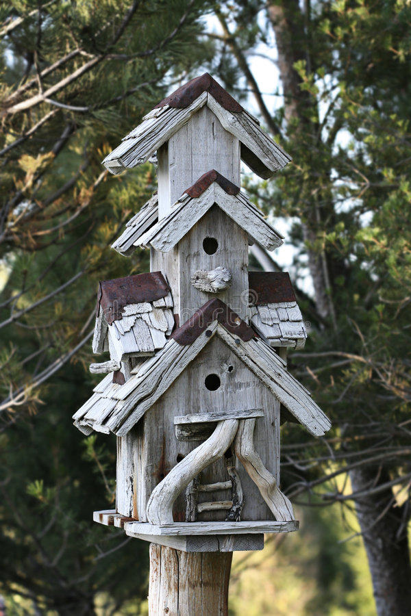 Birdhouse stockfotos