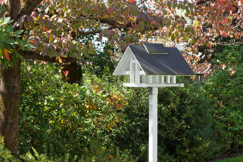 birdhouse royalty-vrije stock afbeelding
